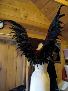 Maleficent costume Fairy Wings by CecilyRush on Etsy
