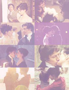 Anne Hathaway (Jane Austen) & James McAvoy (Mr. Tom Lefroy) - Becoming Jane directed by Julian Jarrold (2007) #janeausten