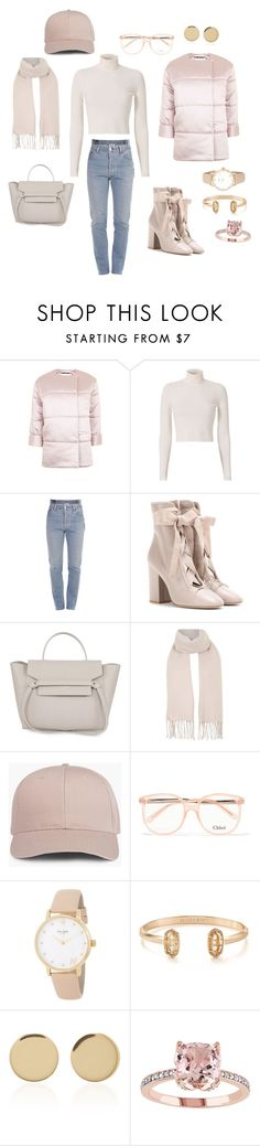 """""""Untitled #171"""" by denzelljavier ❤ liked on Polyvore featuring Topshop, A.L.C., Vetements, Valentino, Chloé, Kate Spade, Kendra Scott and Magdalena Frackowiak"""