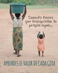 Olafo ♥ When you have to carry your own supply of water, you learn the value of each & every drop.