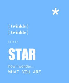 'Twinkle Twinkle' Print by Trendography Prints on #zulily !