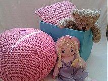Úžitkový textil - Ružový set  - 3953730_