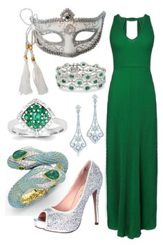 """""""Masquerade"""" by heather-hop ❤ liked on Polyvore featuring Tiffany & Co., Ross-Simons, Lauren Lorraine, Masquerade and Kevin Jewelers"""