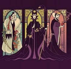 Evil gals