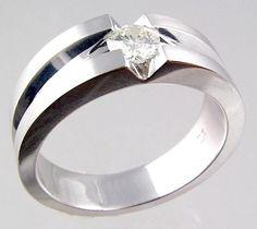 cool wedding rings | ... Unique Diamond Wedding Rings » A Simple Unique Diamond Wedding Ring