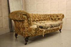 English Antique Chesterfield Sofa