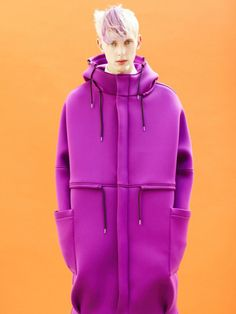 Modeconnect.com - flashy pink coat on boys