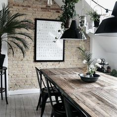 Loving a bit of industrial #scandi in a #diningroom #houserules styling !#interiordesign #designfabulous