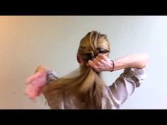 How To French Braid Your Own Hair - This is the first time I've ever braided my hair, this video is awesome!