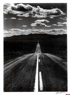 by ansel adams #lulusrocktheroad Makes me want to sing a Talking Heads Song.