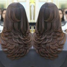 91 the best prom hair looks you are going to fall in love with 2019 page 12 91 the best prom hair looks you are going to fall in love with 2019 page 12 Haircuts Straight Hair, Long Layered Haircuts, Long Hair Cuts, Layers For Long Hair, Layered Long Hair, Brown Blonde Hair, Blonde Brunette, Blonde Honey, Brunette Color