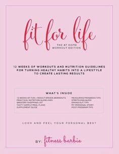 Fit For Life: the at Home Workout Edition Ebook