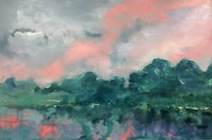 ~Currently in the Gallery~ We now have new works in by the incredible Ros Elkin. Come into the gallery this week and view them. 'Spring storm' Acrylic $1900 #cstudiosartgallery #newcastlensw #beautifuldestination #australia 1520W X 1020H