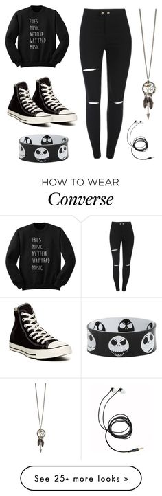 """""""Fall converse Set"""" by hitmanjones on Polyvore featuring Converse"""