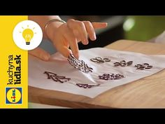 Ako vyrobiť čokoládové ozdoby? 🍫 | Adriana Poláková | Kuchyna Lidla - YouTube Lidl, Youtube, Cakes, Chocolate Flowers, Fine Dining, Cake Makers, Kuchen, Cake, Pastries