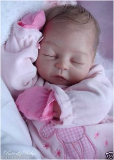 Art Collectible COA Reborn Baby Doll Kit Katelyn by Lorna Ours Mimadolls Low RSV | eBay