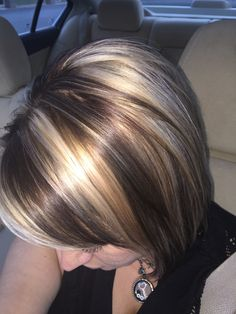 Blonde & brown for fall