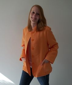Jacket coat Easter spring summer quilted by LilaCInspirations, $32.00