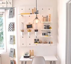I love this study space!!