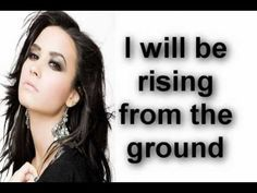 Skyscraper - Demi Lovato (Lyrics & Download Link)  Demi inspires me. It doesn't matter what people think about you, all those mean   things people say to you just means that they are insecure about themselves. <3