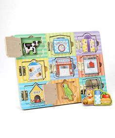 Another great find on #zulily! Melissa & Doug Magnetic Hide & Seek Board #zulilyfinds