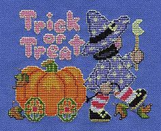 Halloween Cross Stitch Freebies