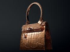 Hermes Makes $1,900,000 Gold Handbags