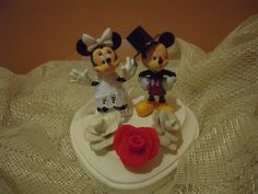 MIckey Mouse and Minnie Mouse  Wedding Cake by AntonisArtAsylum, $45.00
