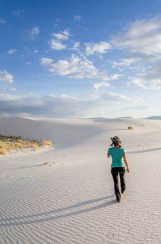 White sands / via Denny Armstrong