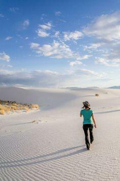 White sands / via Denny Armstrong