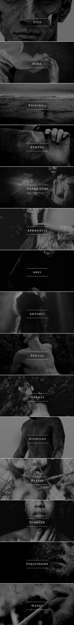 Name Aesthetics | Greek Gods & Goddesses