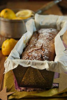 Ce cake au mascarpone et citron sera absolument parfait sur votre table de Noël, à déguster en dessert ou pour le goûter avec un cidre...
