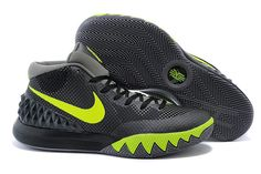 WMNS Kyrie 1 Dark Grey WoLf Grey Volt Green Basketball Shoes 9ba7dea4c623