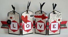Tag Saint Valentin Scrap