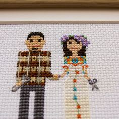 Lovely and funny personalized hand made cross stiched family portraits make perfect gifts for your friends, relatives and beloved ones! Just think of such holidays and occasions, such as CHRISTMAS, MOTHERS DAY, FATHERS DAY, WEDDING, ANNIVERSARY (ESPECIALLY A COTTON ONE), PREGNANCY