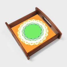 Mandala Art | Republic Day Serving Tray | Artist : Amulya Jayapal | PosterGully