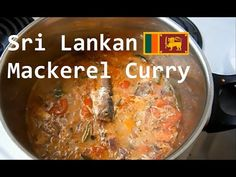 Sri Lankan fish curry (Canned fish curry) - YouTube