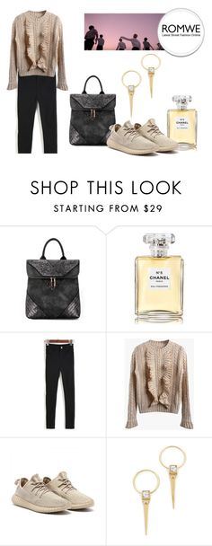 """""""Ruffle Set"""" by mahafromkailash ❤ liked on Polyvore featuring Chanel and Alexis Bittar"""