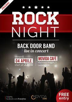 ROCK NIGHT (Back Door Band))