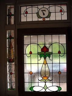Stained Glass Door, Stained Glass Designs, Stained Glass Panels, Stained Glass Projects, Stained Glass Patterns, Leaded Glass, Mosaic Glass, Glass Doors, Window Glass