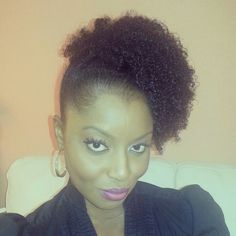 BOOM! Obia of #obinaturalhair. Natural hairstyle rocks. #officiallynatural #curlyhairrocks