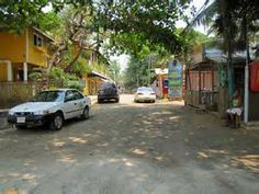 Street in West End, Roatan, Honduras