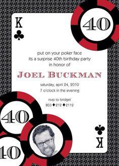 Convite poker