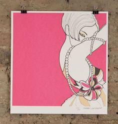 Nelly Duff Gallery - Columbia Road, London.  Natalie Ferstendik • pearl • £145.00