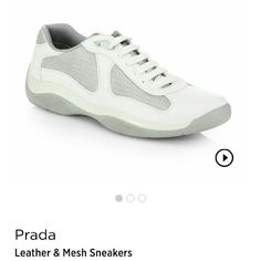 Men's Prada Sneakers!!! Nice and gently used prada Sneakers, paid 595.00 for them but selling them for only 120.00!!! Prada Shoes Sneakers