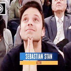Sebastian at the Blazers/Knicks game on November 22nd 2016.