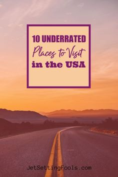 One of the best things about travel is new discovery – and there are plenty of places to discover in the United States! While America's big cities, famous beaches and most popular national parks are magnets for tourists, we know it is worth it to get off the beaten path!