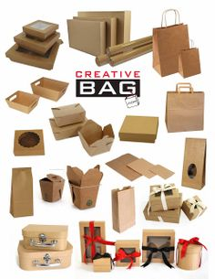 kraft packaging from Creative Bag