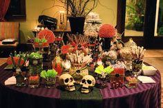 modern halloween wedding laurin brett