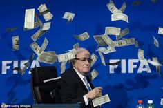 FIFA statement says Blatter found himself in situation of conflict of interest after payme...